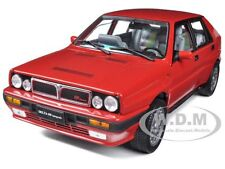 1990 LANCIA DELTA HF INTEGRALE 8V RED 1/18 DIECAST CAR MODEL BY SUNSTAR 3150
