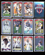 1990 N Y Giants Sticker Set LAWRENCE TAYLOR PHIL SIMMS MARK BAVARO CARL BANKS