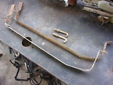 FORD FALCON STATION WAGON GAS FUEL TANK SUPPORT STRAPS WITH J HOOKS OEM SET