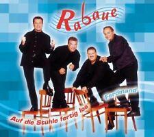 Rabaue   Single-CD   Auf die Stühle fertig los/Ferdinand (4 tracks, 2001)