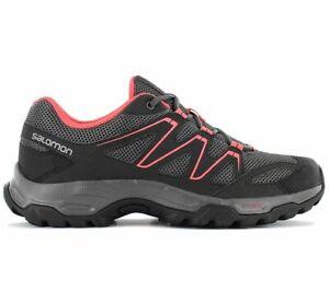 Salomon HALIFAX W Damen Wanderschuhe Schwarz 408671 Outdoor Walking Schuhe NEU