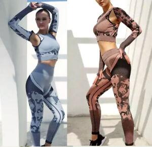 Leggings Camuflaje ropa deportiva femenina