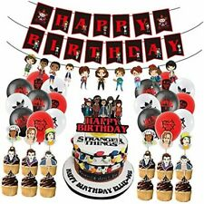 Vercico Eleven Things Birthday Party Supplies Stranger Things Birthday