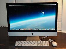 "Apple iMac 27"" 2.7 GHz + LOADED! + 32 GB RAM + 1 TB 7200 RPM Hard Drive + EXTRAS"