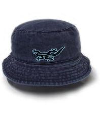 Black Salamander Denim Blue Pigment Dyed Bucket Hat - BH1 - New