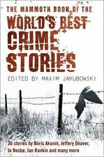 The Mammoth Book of the World's Best Crime Stories (2009, Paperback)