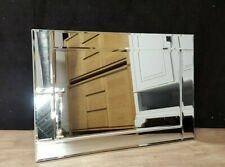 Quality Elegant Modern Art Deco Wall Mirror Gleaming Bevelled Glass 60x90cm