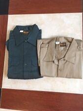 Lot Of 2 Vtg Dee Cee Washington Work Shirt- Long Sleeve Dead Stock Size 3 Xl Nos