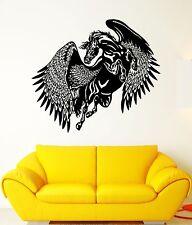 Wall Decal Pegasus Horse Wings Flight Animal Mythology Vinyl Stickers (ed078)