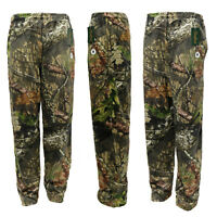 Mens Lightweight Casual Jungle Forrest Summer Gym Lounge Pants Bottoms S to XL