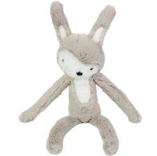 SEBRA Plüsch Hase Kaninchen Teddy Bär feder beige Kuschel Tier Spielzeug Kinder