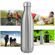 Stainless Insulated Water Bottle Vacuum Double Wall Thermos Sport 500ml/17oz