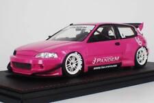 1/18 HPI IG Model Honda Civic EG6 PANDEM Wide body Pink #IG1052
