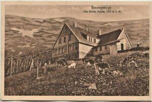 Ansichtskarte Riesengebirge - Alte Schlesische Baude (Schronisko Pod