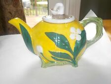 Royal Doulton Minton Mushroom Teapot Majolica Numbered Limited Edition #7