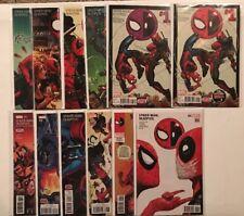 Spider-man Deadpool 1-11 1st Prints Near Mint Lot Set Run