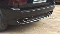 For BMW X5 E53 Muffler Exhaust Tip Tail Extension Pipe tips Silencer 4.8is 4.6is