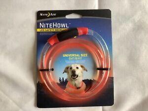 Nite Ize Nho-10-R3  Nite Ize Nitehowl Led Safety Necklace - Red -