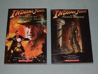 BOOKS Indiana Jones chapters LOT OF 2