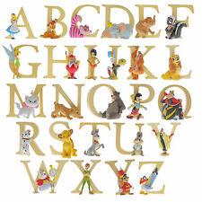 Disney Enchanting Collection Alphabet Letter Figurines *CHOOSE A LETTER*