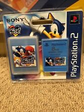 Sonic The Hedgehog Heroes Playstation2 Memory Card New Rare Japanese