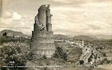c1940 RPPC Mexico Postcard; Caracoles y Acueducto de Los Remedios 228 Naucalpan
