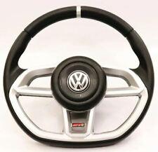 VW Golf Jetta Mk2 Mk3 Mk4 Mk5 Mk6 Steering Wheel Silver Mk7 Style