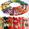 Lots 50 Cotton Cross Floss Stitch Thread Embroidery Sewing Skeins Multi Colors