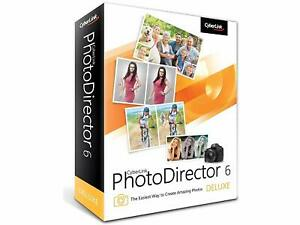 CYBERLINK PHOTODIRECTOR 6 DELUXE DVD-ROM WINDOWS VISTA/7/8 NEW SEALED IN BOX