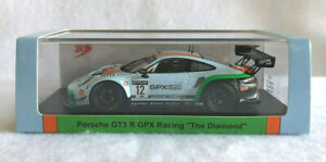 "Spark 1/43rd Scale Porsche 911 GT3 R, #12, GPX Racing, ""The Diamond"", 2020"
