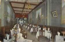 Galveston Texas Cafe Opera Ladies Dining Room Vintage Postcard AA24076