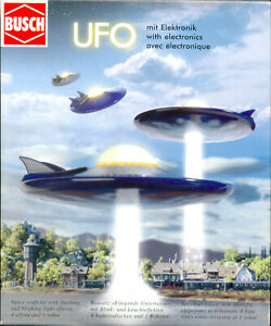 Busch 1010 UFO Model Kit with electronic lighting effects