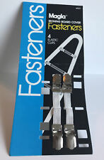 Magla Ironing Board Cover Fasteners 4(2) elastic / steel Sure Grip Clips 1827