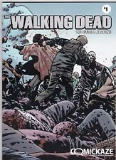 THE OFFICIAL WALKING DEAD MAGAZINE # 1 COMIC COMICKAZE VARIANT COVER COMICS SHOW