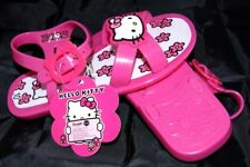 PAIRE DE SANDALE CHAUSSURE ETE HELLO KITTY ROSE FILLE ENFANT POINTURE FR 28 UK10