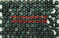 50Pcs Wholesale RAINBOW !! NATURAL Cats Eye Obsidian QUARTZ CRYSTAL Sphere Ball