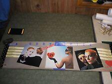 "Vintage Eurythmics Sweet Dreams 1984 Promo Poster Vg 39.5"" x 11.5"""