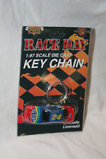 RACE DAY 1/87 JEFF GORDON - DUPONT CHEVROLET KEY CHAIN
