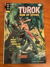 Turok son of Stone #109 Gold Key Comics 1977 FN