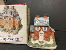 Vintage Liberty Falls Americana, Mayor Johnson's Home Ah07 1991, In Box, Rare!