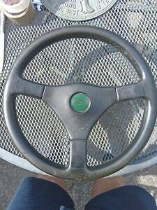 Lotus steering wheel
