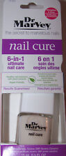Dr. Marvey NAIL CURE 6 IN 1 Nail Care Strengthen Grow T1101 0.5oz Gluten Free
