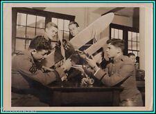 CADETS OF THE NEW YORK ACADEMY Having Air Training - Original Photo - 1942