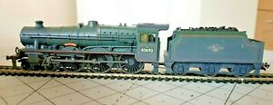 BACHMANN JUBILEE 45693 'AGEMEMNON' WEATHERED OO GAUGE, REBADGED (DCC FITTED)