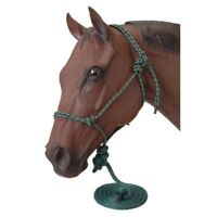 Tough-1 Miniature Horse Poly Rope Halter with 5-1/2' Lead Rope Fully Adjustable