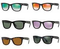 Occhiali da Sole Ray Ban rb 4105 Folding Wayfarer classici polarizzati originali