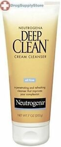 Neutrogena Deep Clean Cream Cleanser 7oz