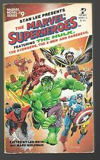 MARVEL SUPERHEROES signed Marv Wolfman #9 first printing 1979 4 stories