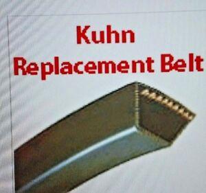 Kuhn Mower Belt Set OF 4 83101670 GMD500 GMD500S GMD55S GMD66 GMD66HD 97B