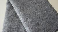 NEU Swafing gekochte Wolle NAOMI melange grau 50 x 140 cm